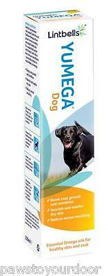 Yumega Skin & Coat Dog Supplement Essential Omega Oil 250ml or 500ml Lintbells