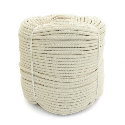 WHITE COTTON ROPES natural fibre industry craft multi-use