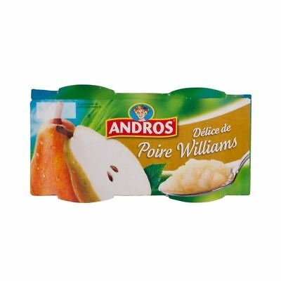 Andros Pear Compot 4 x 100g