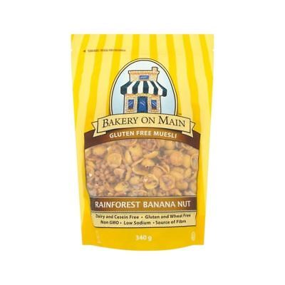 Bakery On Main Rainforest Banana Nut Muesli 340g