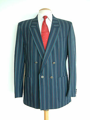"Vintage Boating Blazer..stripes..42""..henley..mod..goodwood..super Condition"