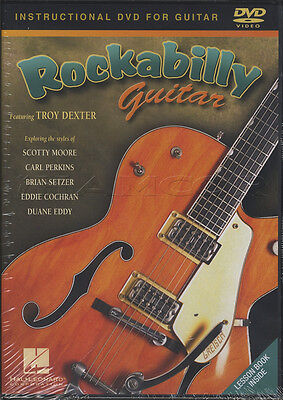 Rockabilly Guitar Troy Dexter Learn How to Play Tuition DVD Instructional