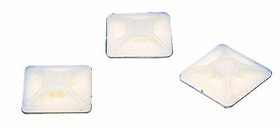 Fixapart 100x Cable Clamps 3.6 mm White