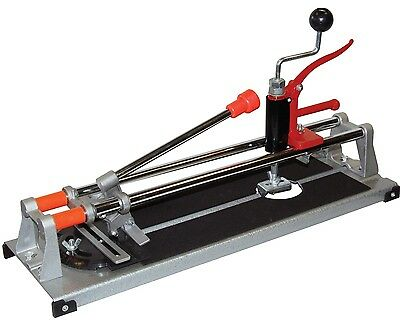 "Heavy Duty 18"" 460Mm 3 In 1 Tile Cutter Cutting Machine Hole Straight Angled Cut"
