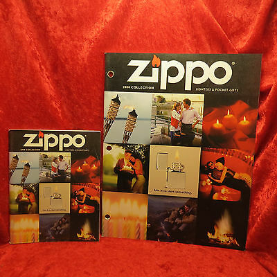 Rare Zippo 2000  Miniature And Full Lighter Collection Catalog Book