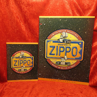 Rare Zippo 1998  Miniature And Full Lighter Collection Catalog Book