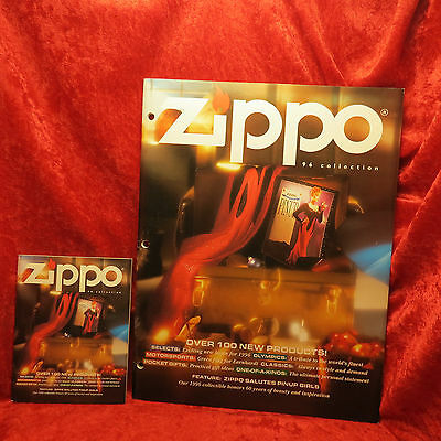Rare Zippo 1996  Miniature And Full Lighter Collection Catalog Book