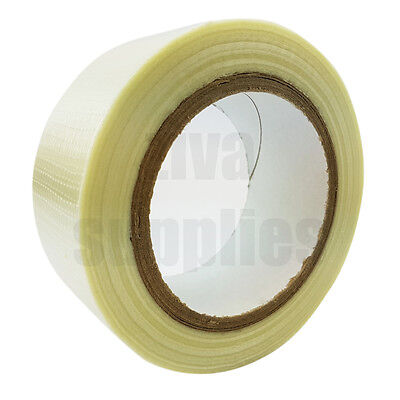 CROSSWEAVE TAPE Reinforced (50mm x 50m) for Packing Parcels Boxes Heavy Goods