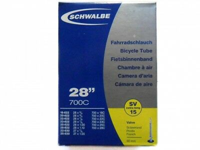 Schwalbe Schlauch SV15 extra lang (18/28-622/630) - 28 Zoll