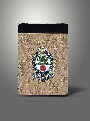 Princess of Wales's Royal Regiment PWRR Notepad
