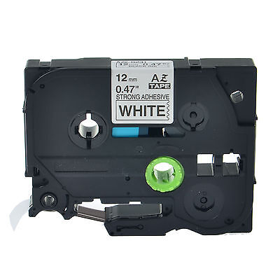 """1PK TZe S231 TZ-S231 Black On White Label Tape For Brother P-Touch 12mm 1/2"""""""