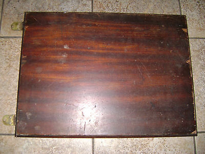 Parts for Singer Sewing Machine Drawing Room Cabinet - Mahogany Top - Needs Work