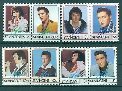 ELVIS PRESLEY - ST. VINCENT 1985 50th Anniversary set
