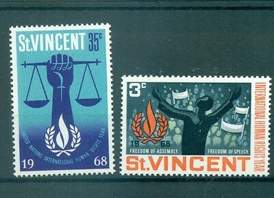 EMBLEMES - EMBLEMS ST. VINCENT 1968 Human Rights