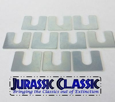 "10pk 1946-1985 Mopar 1/16"" Universal Body Fender Shims Adjuster Alignment Square"