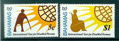 EMBLEMES - EMBLEMS BAHAMAS 1981 Year of The Disabled People
