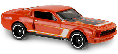 68 Shelby Gt500 >> Hot Wheels 2016 Hw Then And Now 68 Shelby Gt500 Orange Ford Mustang
