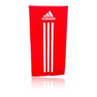 Adidas Towel Red 50cm x 100cm Small Gym Sports F51249 Brand New With Tags