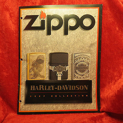 Rare Zippo 1997 Harley    Lighter Collection Catalog