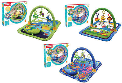 New Baby Play Toddler Activity Gym Play Mats Baby Sea Animals Toys Blanket UK