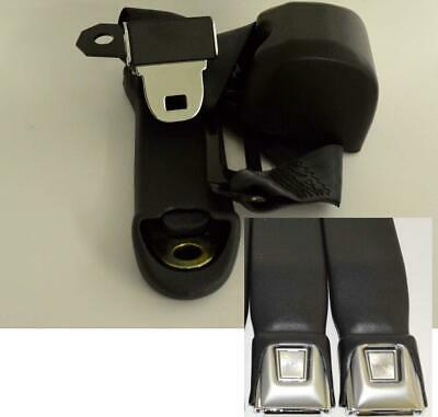 Morris Classic 3 Point Front Seat Belt 70-73 Duster Demon for Bucket Seats Pr.
