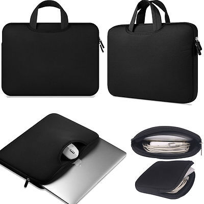 "Soft Sleeve Case Carry Bag Handbag For 15"" 13"" 11"" Apple Macbook Pro Air Laptop"