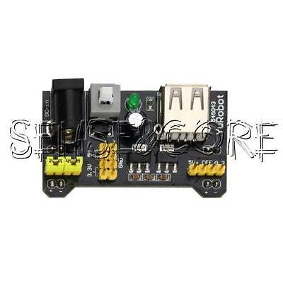 1/2/5/10PCS MB102 Breadboard Power Supply Module 3.3V 5V For Arduino  Solderless