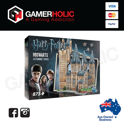 Harry Potter Hogwarts Astronomy Tower 3D Puzzle by Wrebbit