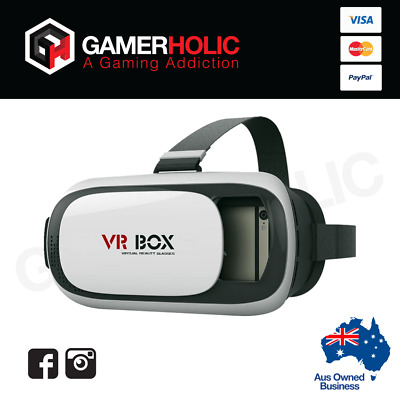 3D Google Glasses 2nd Gen VR BOX Virtual Reality Headset + Controller