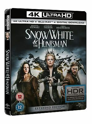 Snow White and the Huntsman: Extended Version (4K Ultra HD + Blu-ray + Digital