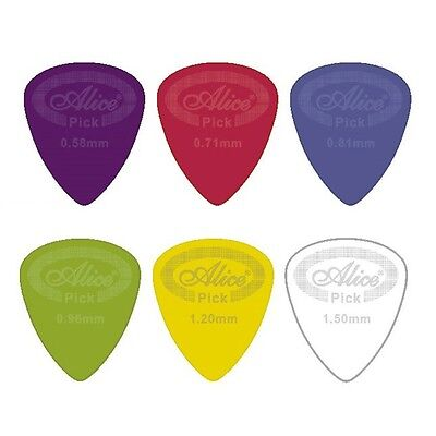 Nylon Guitar Pick / Plectrum - Dunlop Alternative - Choose size and quantity