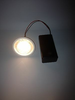 Battery Operated Exhibition Display Led Bulb Light Super Bright Warm White