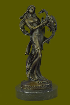 Dragon Woman Illusion Of Fantasy Signed Original Patoue French Artist Deal