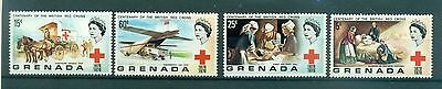CROIX ROUGE - BRITISH RED CROSS CENTENARY GRENADA 1970 set