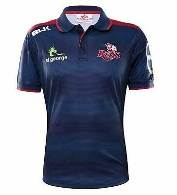 Queensland Reds 2016 Media Polo Shirt 'Select Size' S-2XL BNWT