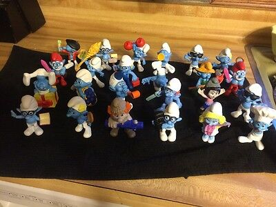 The Smurfs Figurines ~Peyo ~ Jakks 9 Assorted