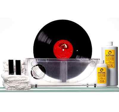 Spin Clean Record Washer MKII Package Limited Edition Clear Unit  Album Cleaning
