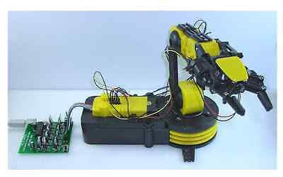 OWI-535PC ROBOTIC ARM KIT with USB PC INTERFACE and PROGRAMMABLE SOFTWARE***