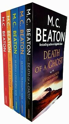 Hamish Macbeth Series 4 Books Collection Set By M.C.Beaton Gift Wrapped Slipcase