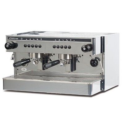 2 Group Commercial Espresso Coffee Machine