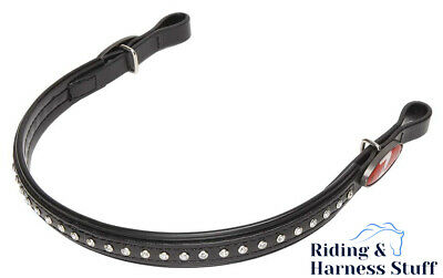 Zilco Harness Racing Bling Browband - for Extended Bridles