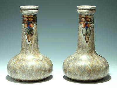 A Pair of Cranston Pottery Art Deco Vases made by the Pearl Pottery       #50272