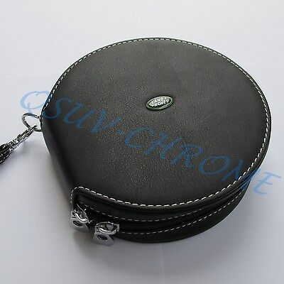 Auto DVD CD Storage Bag Holder Case Clip Cover Trim For Land Rover Accessories