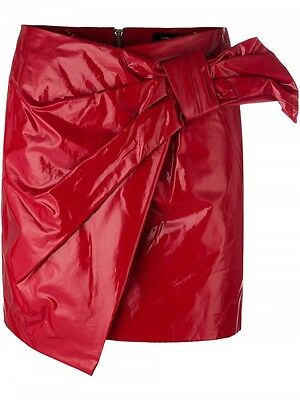 Isabel Marant Anders Rony Red  Skir$520  Save 50% Off Now $260  New Season