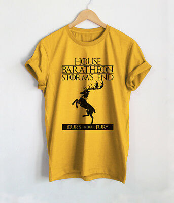 House Baratheon T Shirts Game of Thrones Shirt Gendry Robert Unisex Tops Tees