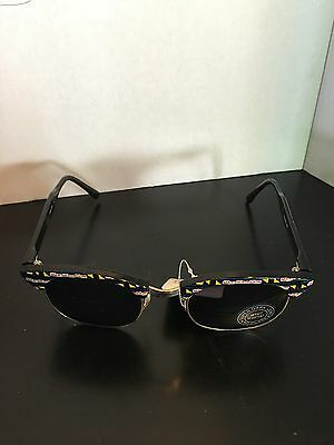 Max Headroom Official Sunglasses 1987 Coca Cola BlackPrint Wire New Rare Vintage