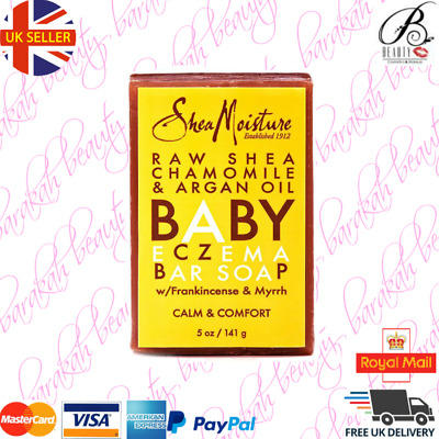 Shea Moisture Raw Shea Chamomile & Argan Oil Baby Eczema Bar Soap