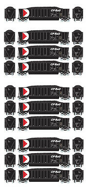 Athearn RTR CP Rail Bathtub Gondola w/Coal Load - 10 Car Bundle - HO