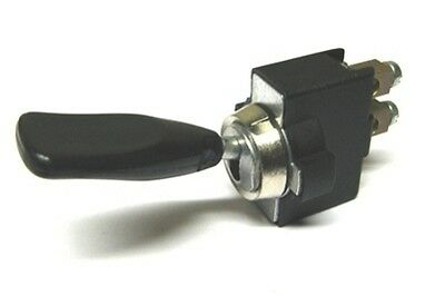 Heavy Duty Motorsport On/Off Switch, Screw Terminals 13mm Diameter (760)