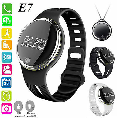 E07 Bluetooth V4.0 Smart Bracelet Watch Waterproof Sport Watch